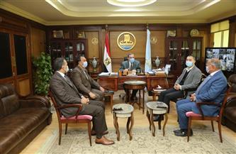 محافظ كفر الشيخ يستقبل وفد وزارة التخطيط لتفقد 12 مركزاً تكنولوجياً تمهيدًا لافتتاحها خلال أيام| صور