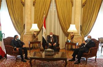 وزير الخارجية ورئيس المخابرات العامة يلتقيان رئيس الوزراء اللبناني المُكلف