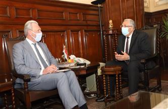 وزير الزراعة يستقبل السفير الهولندي الجديد بالقاهرة لبحث آفاق التعاون