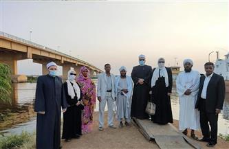 «قافلة الأوقاف» تعقد ندوة دينية بمسجد ديوان عام الزكاة وتقوم بجولة في ولاية النيل الأبيض | صور