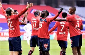 ليل يعود للانتصارات ويستعيد صدارة الدوري الفرنسي