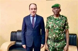قائد الجيش البوروندي: مصر تمتلك مكانة كبيرة ولها ودور ريادي على الساحتين القارية والدولية
