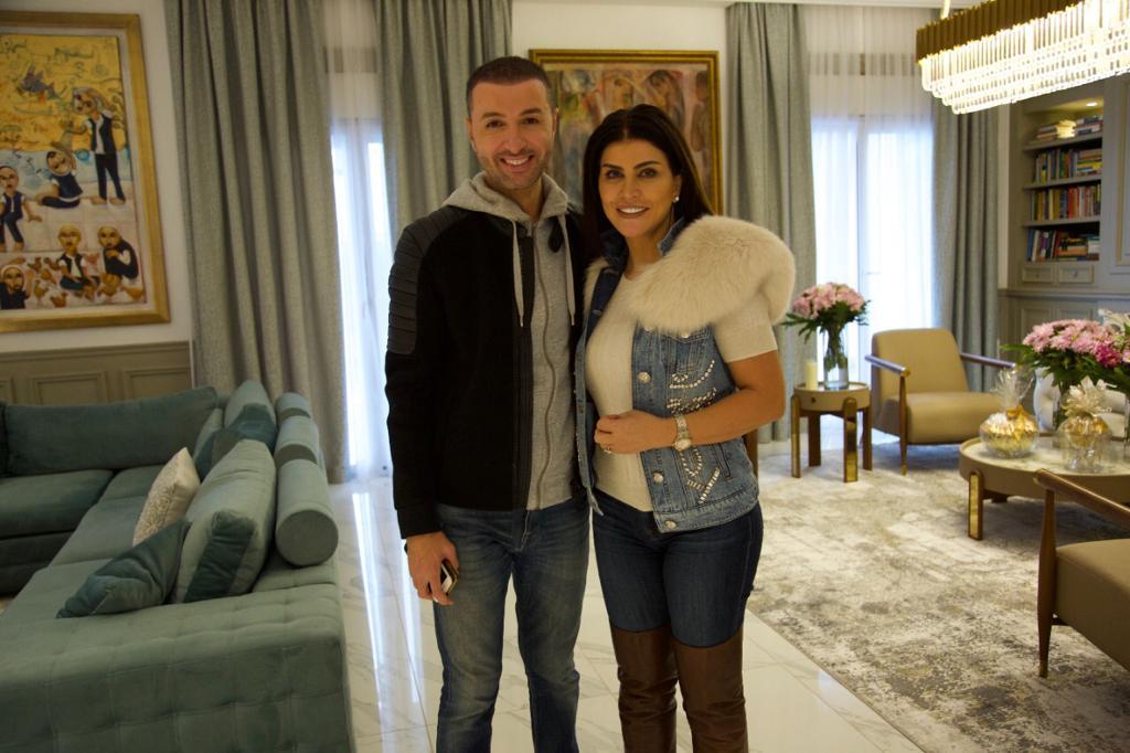 جومانا مراد مع الإعلامي بلال العربي