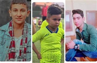 الحزن يخيم على «ميت الكرماء» بالدقهلية بعد مصرع 3 أطفال في حادث تصادم بين «توك توك» و«ميكروباص» |صور