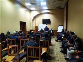 «البحوث الإسلامية» يبدأ سلسلة لقاءات توعية للعاملين بهيئة السكك الحديدية| صور