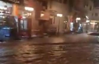 الأجهزة التنفيذية تنجح في شفط مياه الأمطار من شوارع شرم الشيخ دون وقوع خسائر