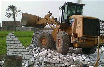 إزالة 164 حالة تعد على الأراضي الزراعية في الغربية