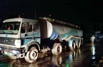 عمليات جنوب سيناء: فتح جميع الطرق أمام المرور بعد التعرض لموجة طقس سيئ