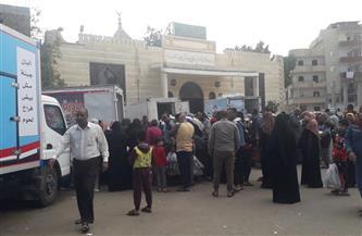 انطلاق مبادرة «الريف المصري ضد الغلاء» لبيع المواد التموينية بسعر الجملة بسفاجا | صور