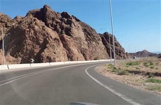 إعادة فتح الطريق الرئيسي الجديد شرم الشيخ - القاهرة أمام حركة المركبات