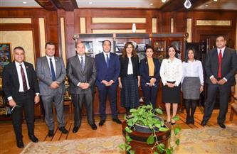 وزيرة الهجرة تبحث مع أعضاء تنسيقية الأحزاب والسياسيين التعاون حول شباب الدارسين بالخارج |صور