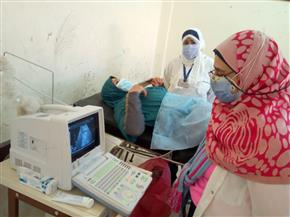 الكشف على 1500 مريض فى قافلة طبية بقرية بلال بن رباح فى البحيرة | صور