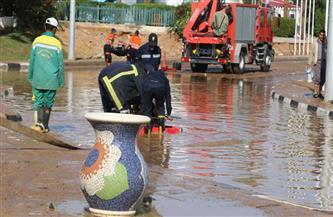 محافظ جنوب سيناء: جميع الطرق مفتوحة والأمطار لم تخلف أية خسائر | صور