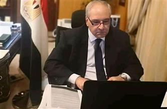 سفير مصر بالرياض يلتقي وزير الداخلية السعودي