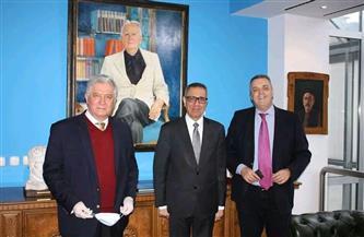 سفير مصر فى سراييفو يبحث سبل تعزيز التعاون بين المعهد البوسني ومكتبة الإسكندرية| صور