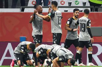 أعضاء الأهلي يحتفلون بالتأهل لنصف نهائي كأس العالم للأندية