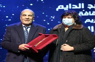 وزيرة الثقافة تكرم الموسيقار فاروق الشرنوبي.. وتؤكد: قيمة فنية ورمزًا للأصالة   صور