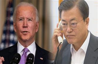 رئيسا كوريا الجنوبية والولايات المتحدة يتفقان علي إستراتيجية لنزع السلاح النووي في شبه الجزيرة الكورية