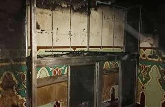 """حريق يلتهم محتويات غرفة بمسجد بـ""""الرحمانية"""" بميت غمر"""