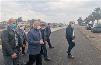 وزير النقل يتفقد طريق المنصورة /جمصة والمرحلة الأولى من الطريق الدولي الساحلي