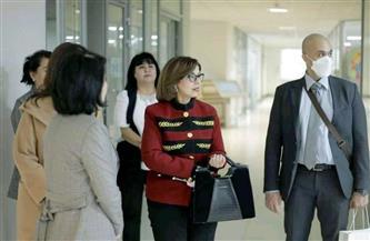 سفيرة مصر في طشقند تلتقي وزير الابتكار الأوزبكي