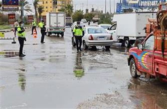 الداخلية تواصل جهودها لمواجهة تداعيات الأمطار وموجة الطقس السيئ| صور