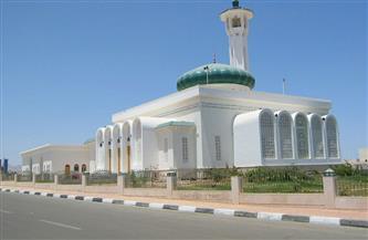 مختار وجبر وفودة والشوربجي يؤدون صلاة الجمعة بمسجد السلام في شرم الشيخ