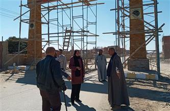 رئيسة مدينة القوصية تتفقد أعمال تطوير مسار العائلة المقدسة  صور