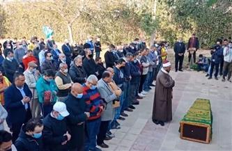 تشييع جنازة العلايلي بحضور إلهام شاهين وأشرف زكي وخالد النبوي وآخرين