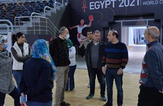 اتحاد الجمباز يتفقد صالات ستاد القاهرة قبل كأس العالم| صور
