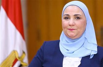 """القباج تشهد احتفالية """"أبناء مصر"""".. وتتناول الإفطار مع 500 ابن من دور الأيتام"""