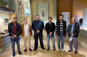 وفد من تنسيقية شباب الأحزاب والسياسيين يزور متحف شرم الشيخ| صور