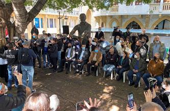 لبنان: وقفة احتجاجية بوسط بيروت تنديدًا باغتيال الناشط لقمان سليم