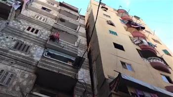 محافظ الإسكندرية: تشكيل لجنة هندسية لفحص العقارات المحيطة بالعقار المائل