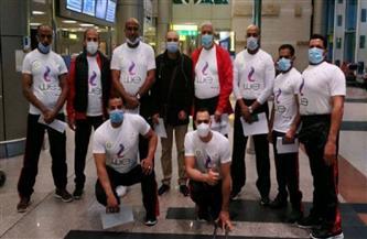 وصول بعثة منتخب مصر لألعاب القوى إلى دبى للمشاركة فى بطولة فزاع الدولية للإعاقات الحركية