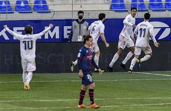 ثنائية فاران تجنب ريال مدريد هزيمة محرجة أمام ويسكا
