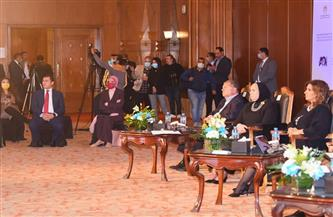 المدير التنفيذي لصندوق النقد الدولي يستعرض 3 محاور بالجلسة الرابعة من مؤتمر «مصر تستطيع بالصناعة» | صور
