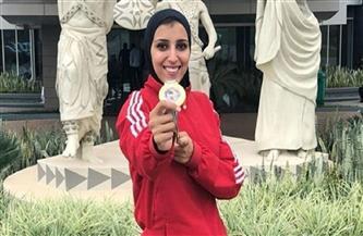 جيانا فاروق في الأردن للدخول في معسكر دولي استعدادا لأوليمبياد طوكيو