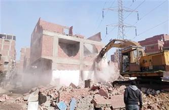 استكمال إزالات عزبة الهجانة بمدينة نصر ضمن إنشاء محورالوفاء والأمل