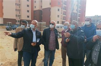 """مسئولو """"الإسكان"""" يتفقدون مشروعات جهاز مدينة العبور   صور"""