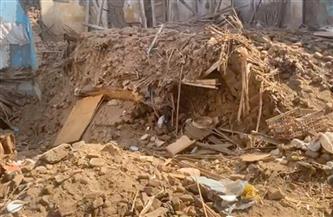مصرع  4 أشخاص من أسرة واحدة فى انهيار منزل بسوهاج | صور