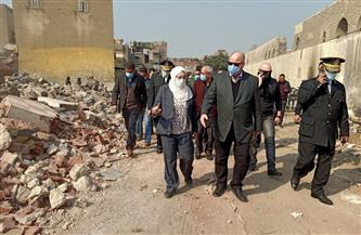 محافظ القاهرة يتفقد إزالات منطقة بني هلال العشوائية في مصر القديمة
