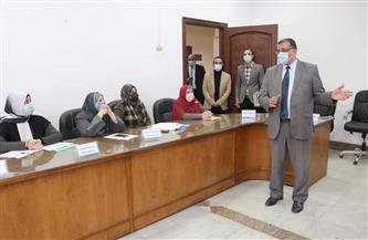 نائب رئيس جامعة المنوفية يشهد ختام دورة إعداد القادة حول مواجهة الأزمات الطارئة | صور