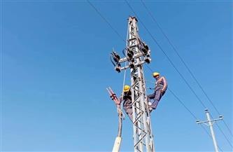محافظ كفرالشيخ: إحلال وتجديد شبكات الكهرباء ببعض المدن والقرى بتكلفة 6 ملايين جنيه | صور