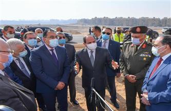 الرئيس السيسي يوجه باستمرار جهود تطوير جميع المناطق العشوائية وغير الآمنة