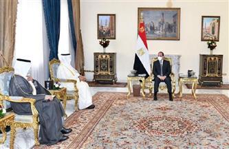 """الرئيس السيسي يستقبل أمين """"التعاون الخليجي"""" ويتناولان تعزيز علاقات مصر الراسخة بدول المجلس"""