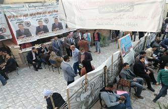 بدء أعمال فرز أصوات الناخبين في انتخابات مجلس نقابة المحامين الفرعية بالفيوم | صور