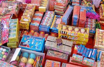 التحفظ على 126 ألف قطعة ألعاب نارية وحبس أصحابها بمنطقة الأميرية