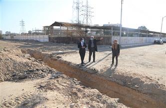 يستوعب 35 ألف نسمة.. بدء عمل الجسات الأرضية لمشروع المجتمع العمراني الجديد في قنا  صور
