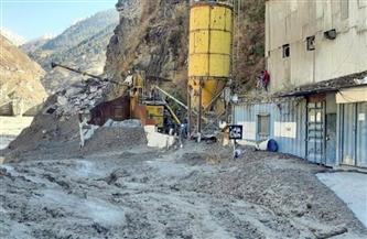 مقتل 15 شخصا وفقدان أكثر من 160 بعد انهيار نهر جليدي في الهند